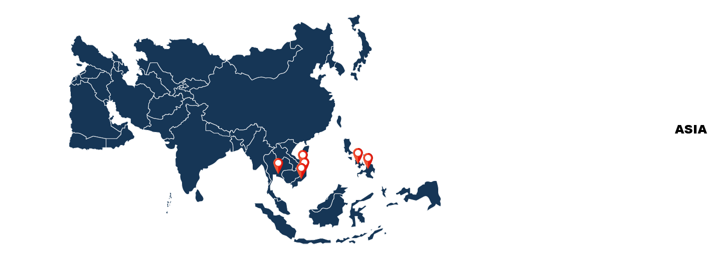Our Asia Locations